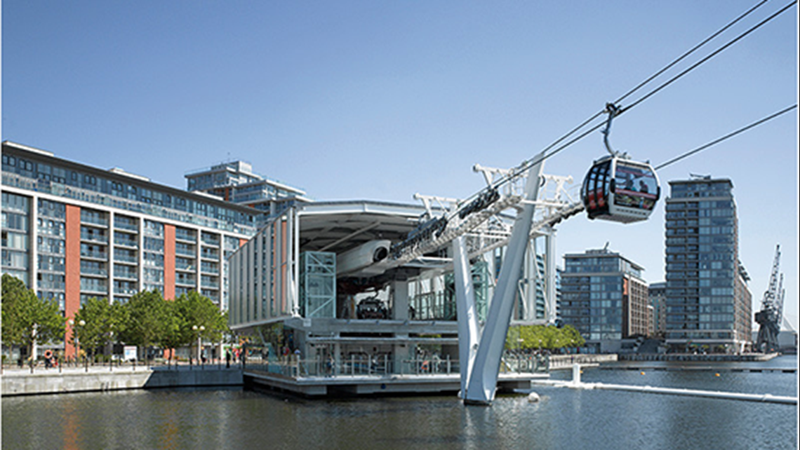 Leonova Emerald keeps Emirates Air Line cable cars flying safely